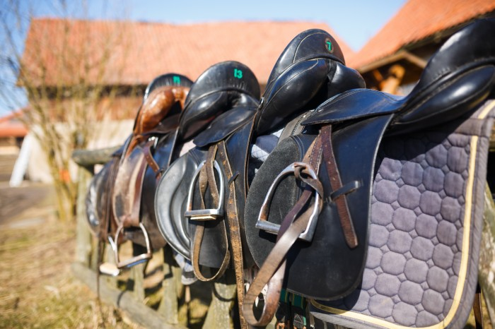 Equitack garanties you top quality restored saddles